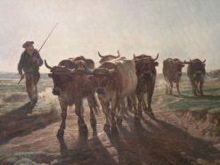 Going to Work | Inocencio Garcia Asarta | Oil Painting