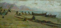 Catalan Coast | Inocencio Garcia Asarta | Oil Painting