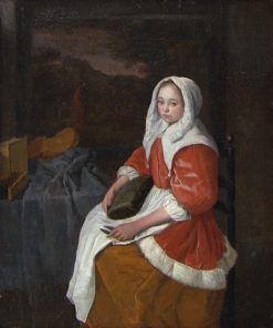 The Lacemaker | Jost van Geel | Oil Painting