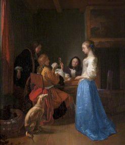 The Queen of Hearts | Jost van Geel | Oil Painting