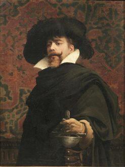 Cavalier | Edoardo Gelli | Oil Painting