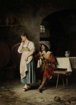 A Token of Love | Edoardo Gelli | Oil Painting
