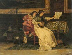 The Love Song | Edoardo Gelli | Oil Painting