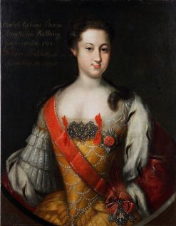 Portrait of Anna Leopoldovna | Johann Heinrich Wedekind | Oil Painting
