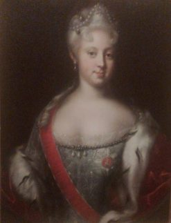 Elizabeth of Russia   Johann Heinrich Wedekind   Oil Painting