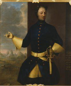 Portrait of Karl XII   Johann Heinrich Wedekind   Oil Painting