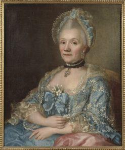 Dorothea Elisabeth Sauer | Ulrika Fredrica Pasch | Oil Painting