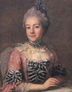 Portrait of Hedvig Charlotta Nordenflycht | Ulrika Fredrica Pasch | Oil Painting