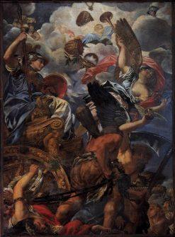 The Triumph of Wisdom | Filippo Gherardi | Oil Painting