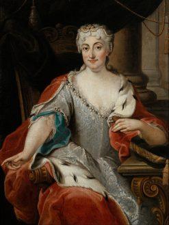 Portrait of Maria Clementina Sobieska | Pier-Leone Ghezzi | Oil Painting