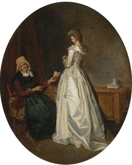 The Fortune Teller | Henri Nicolas van Gorp | Oil Painting