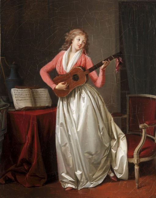 Nina chantant la romance | Henri Nicolas van Gorp | Oil Painting