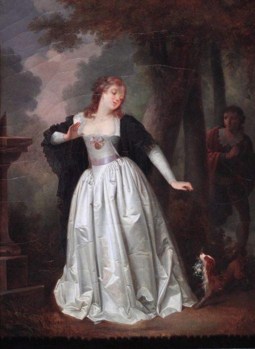 Ah! Le Voila! | Henri Nicolas van Gorp | Oil Painting