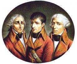 The Three French Consuls | Henri Nicolas van Gorp | Oil Painting