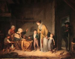 The Charity Lesson | Henri Nicolas van Gorp | Oil Painting