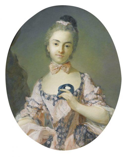 Portrait of a Lady | Jean-Baptiste Perronneau | Oil Painting