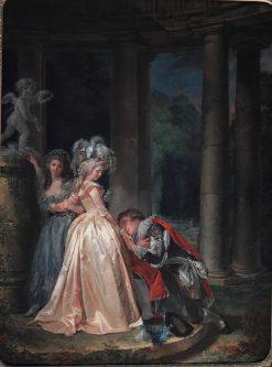 Le Serment a lamour | Louis de Trinquesse | Oil Painting