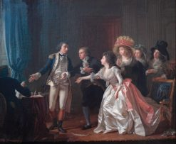 Le Mariage interrompu   Michel Garnier   Oil Painting