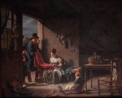 Le Marchand forain   Martin Drölling   Oil Painting