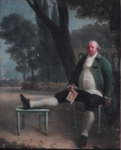 Portrait dAntoine de Serilly | Henri-Pierre Danloux | Oil Painting
