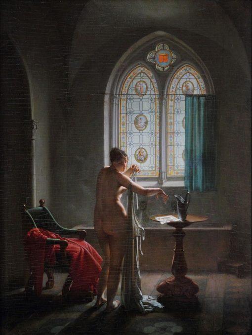La Salle de bain gothique | Jean-Baptiste Mallet | Oil Painting