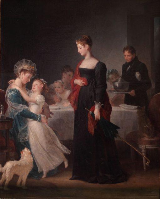 The Visit | Marguerite Gerard | Oil Painting