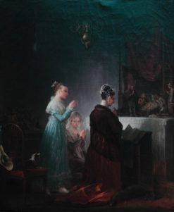 La Crèche | Marguerite Gerard | Oil Painting