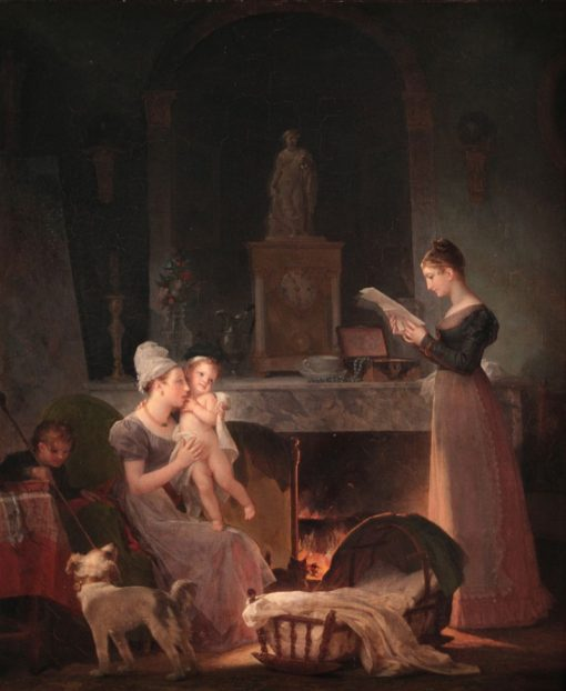 Reading the Letter | Marguerite Gerard | Oil Painting