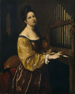 St. Cecilia | Antiveduto Grammatica | Oil Painting