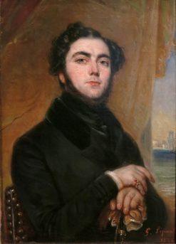 Eugène Sue | Francois Gabriel Guillaume Lepaulle | Oil Painting