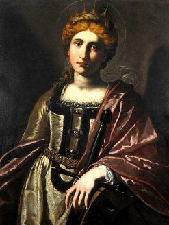 Saint Catherine of Alexandria | Antiveduto Grammatica | Oil Painting