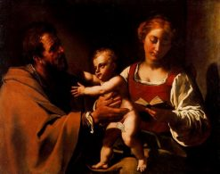 The Holy Family | Antiveduto Grammatica | Oil Painting