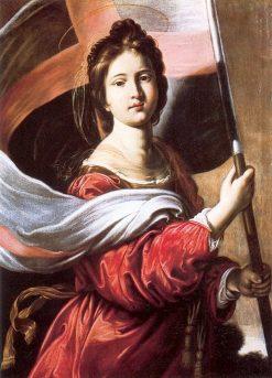 Santa Ursula | Antiveduto Grammatica | Oil Painting