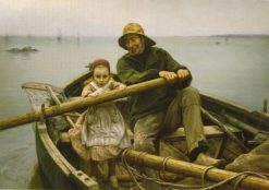 The Helping Hand | Emile Renouf | Oil Painting