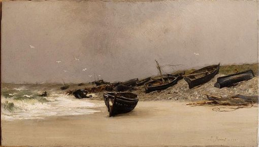 After a Squall | Emile Renouf | Oil Painting