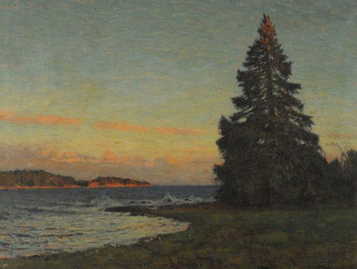 The Fir Tree | Gottfrid Kallstenius | Oil Painting