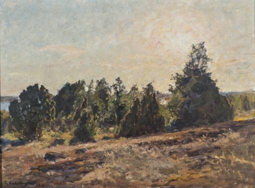 Towards Evening | Gottfrid Kallstenius | Oil Painting