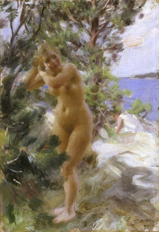 After the Bath | Anders Zorn | Oil Painting