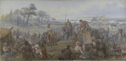 After the Battle of Fyrisvall | Marten Eskil Winge | Oil Painting