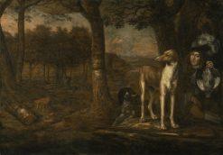 After the Hunt | Govert Dircksz. Camphuysen | Oil Painting