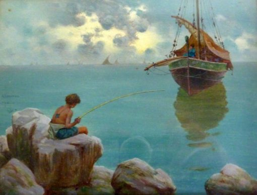 Bay of Naples | Giuseppi Cosenza | Oil Painting