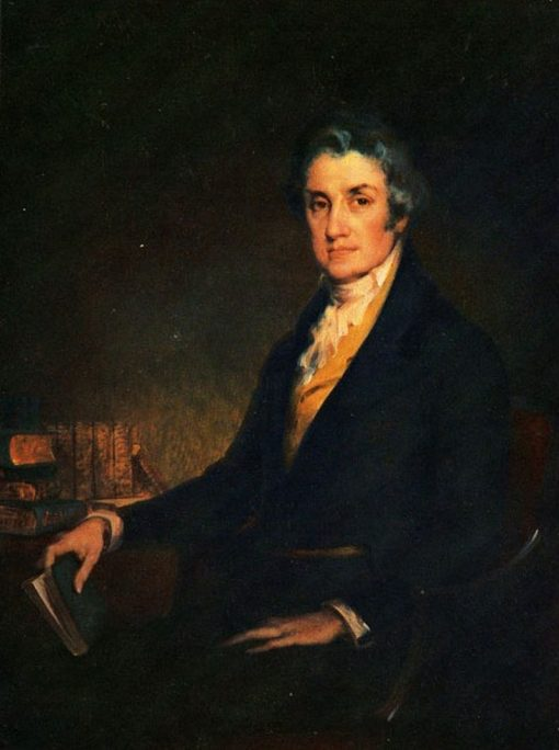 Abraham Baldwin   Charles Frederick Naegele   Oil Painting