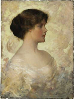 Portrait of a Lady | Charles Frederick Naegele | Oil Painting