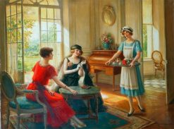 The Servant | Albert Lynch | Oil Painting