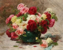 Roses | Georges Jeannin | Oil Painting