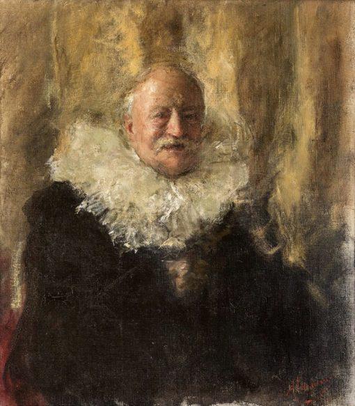 Self Portrait | Antonio Mancini | Oil Painting