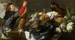 Still Life with Huntsman | Frans Snyders | Oil Painting