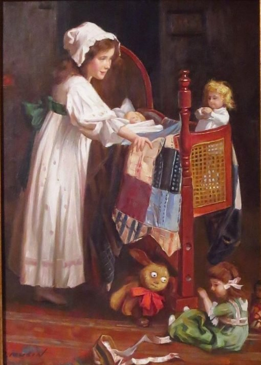 Too Many Toys | Carlton Alfred Smith | Oil Painting