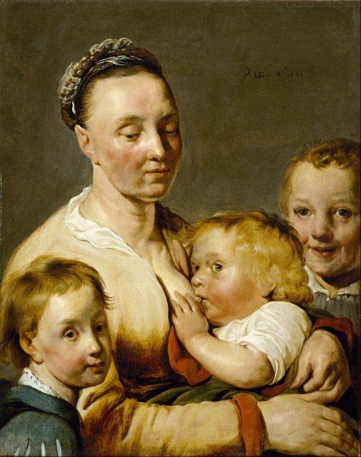 Charity   Pieter Fransz. de Grebber   Oil Painting
