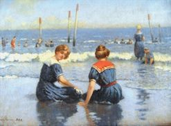 At the Shore | Frank Russell Green | Oil Painting